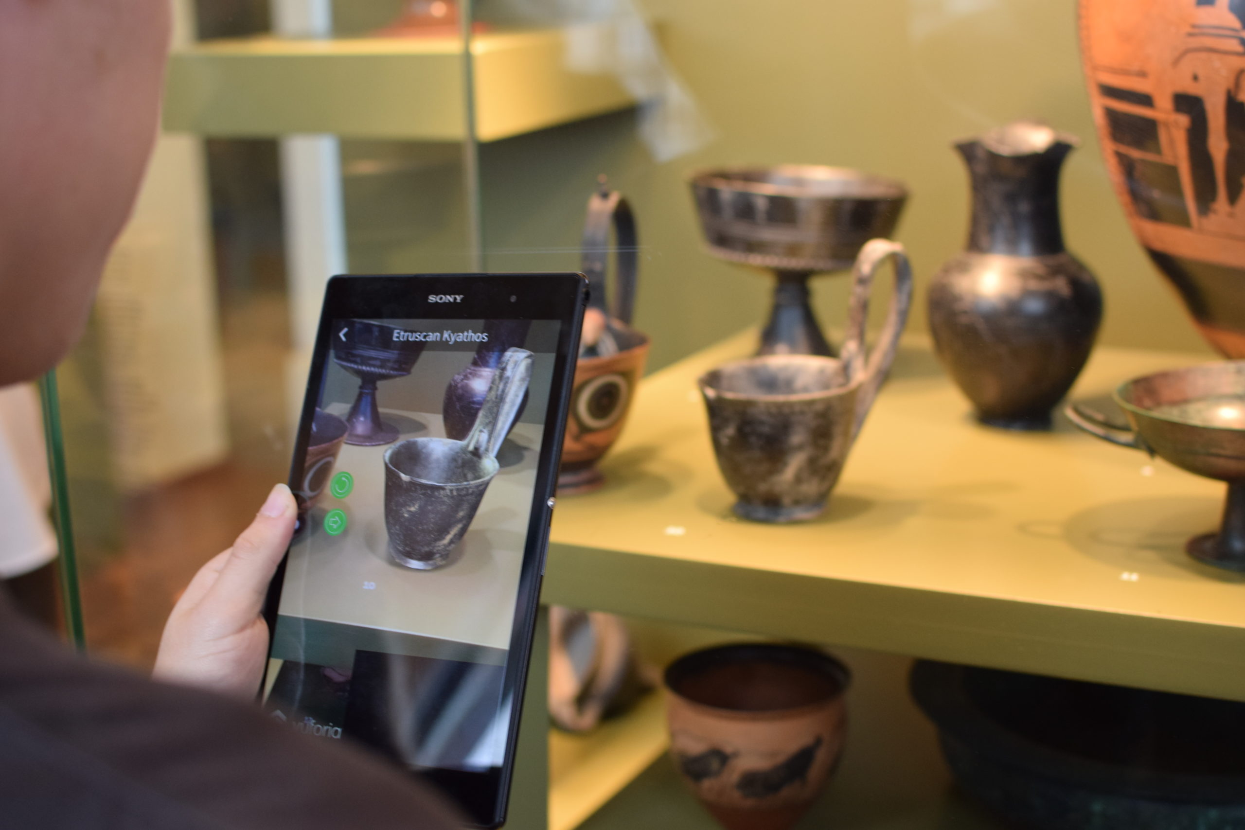 Augmented Reality in Humanities Education