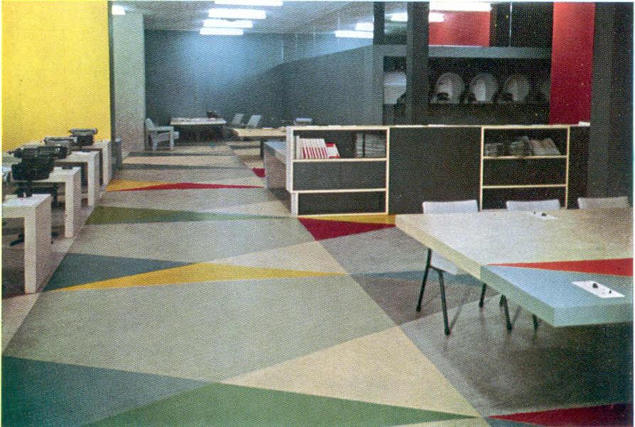 Photo of the Pressroom by UNESCO/D. Berretty.